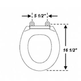 Toilet Seat Sizes Uk. Toilet Seat Size Choosing the right replacement toilet seat