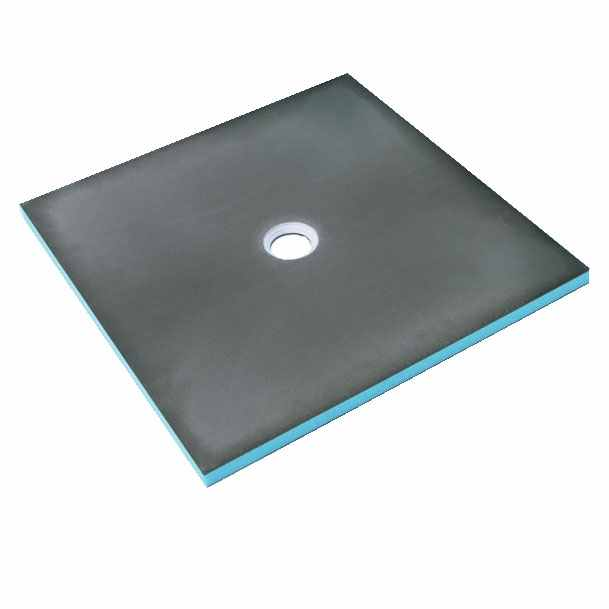 Wedi Fundo Primo Wetroom Tray with Central Drain - 1000 x 1000mm