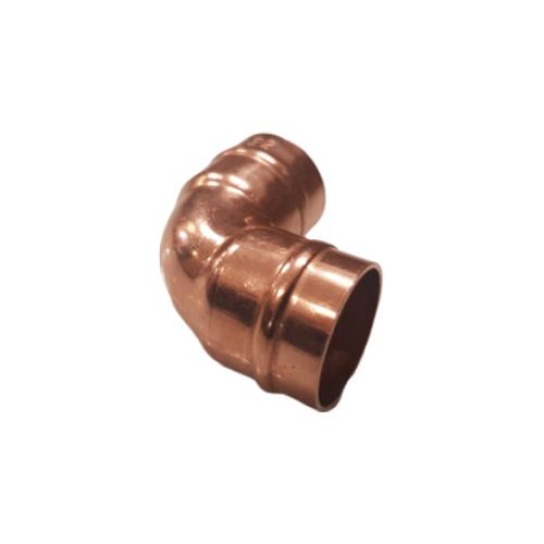 5 X 15mm Copper Solder Ring 90 Degree Elbows
