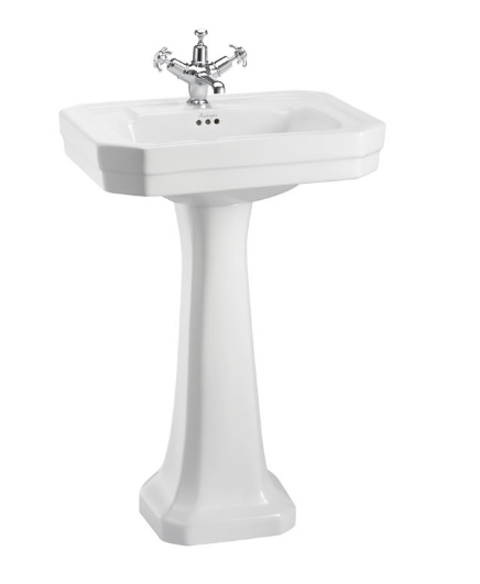 Burlington Victorian 56cm Basin and Regal Pedestal