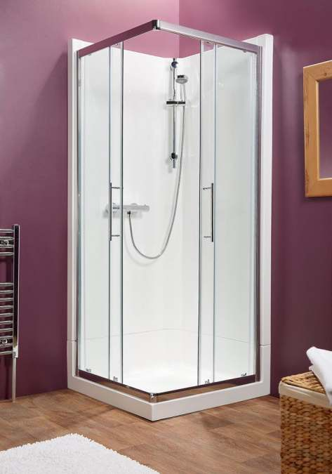 Kubex Eclipse Range Shower Pod - 920mm - Corner Entry