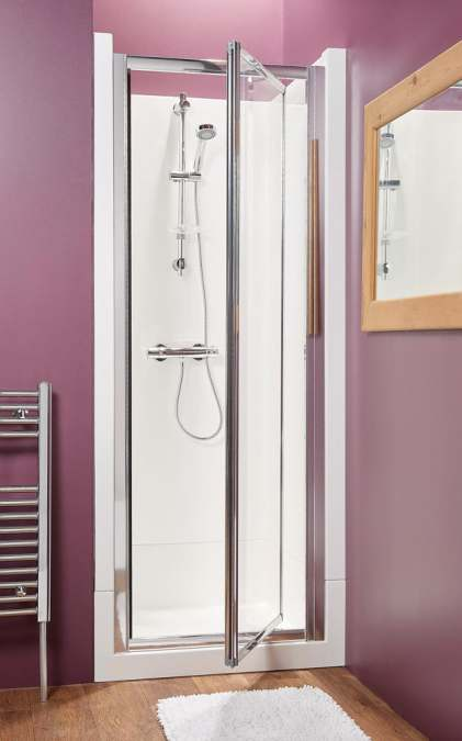 Kubex Eclipse Range Shower Pod - 800mm - Pivot Door