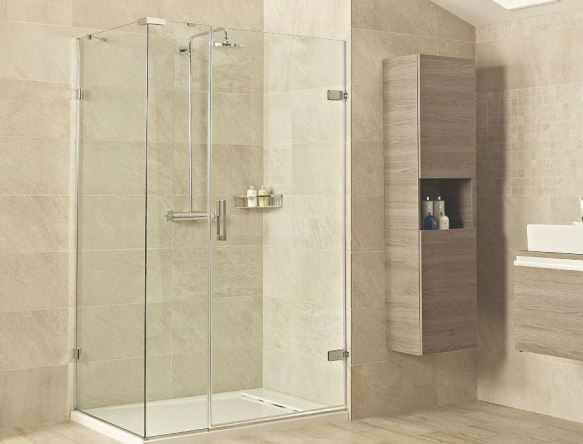 Side And In Line Panels 10mm Glass, Shower Glass Panel Cost India