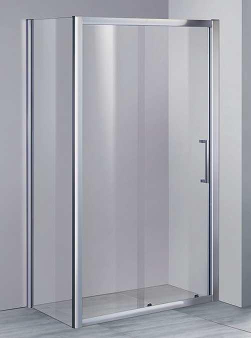 Elegance8 Kansas 8mm Glass Sliding Shower Door 1200mm