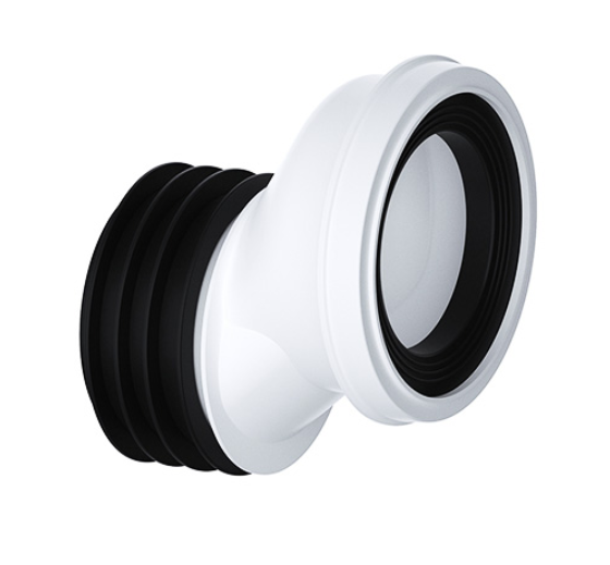Viva 40mm Offset WC Pan Connector - PP0003/A