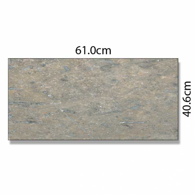 Abacus Silver Travertine Marble Tile - 61 x 40.6cm