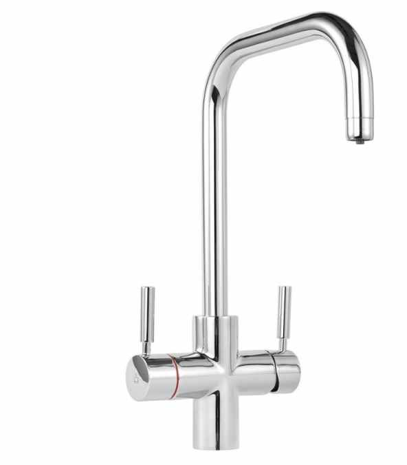 Tuscan Bollente 3-in-1 Instant Hot Water Kitchen Tap - Chrome