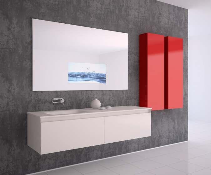 Simply Magic Vanity Mirror, Bathroom Vanity Mirror With Built In Tv