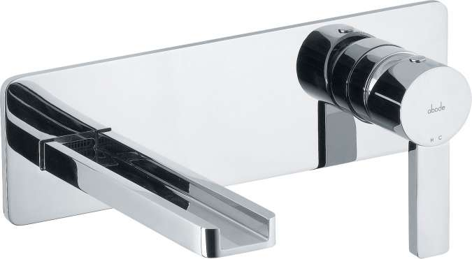 Abode Modo Wall Mounted Basin Mixer