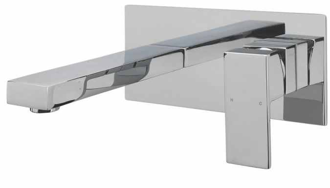 Sagittarius Blade Wall Mounted Basin Mixer