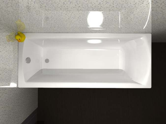 Carron Delta 1600 x 700mm Single Ended Bath Online at Rubberduck ...
