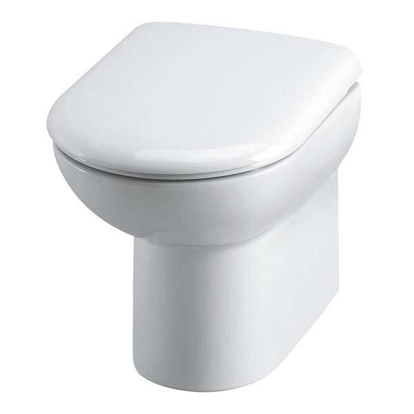 D Shape Back To Wall Toilet Pan Soft Closing Seat