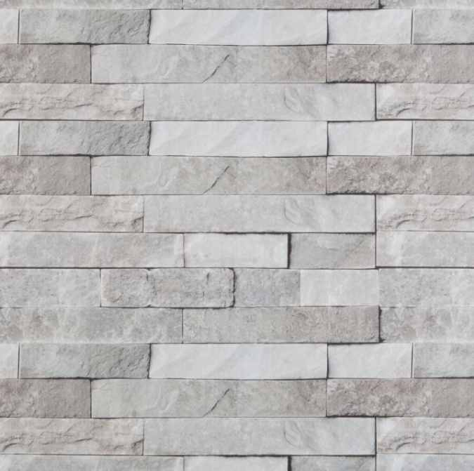 Neptune 400 - Grey Brick - Plastic uPVC Wall Panels 2 8m - 3 Pack
