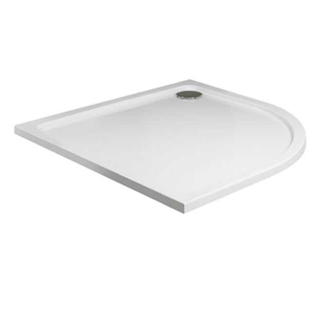 Roman Offset Quadrant Shower Tray - 1200 x 800