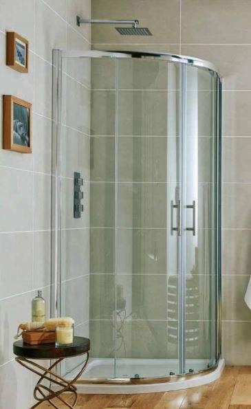 Scudo I6 Double Door 900 X 900mm Quadrant Shower Enclosure
