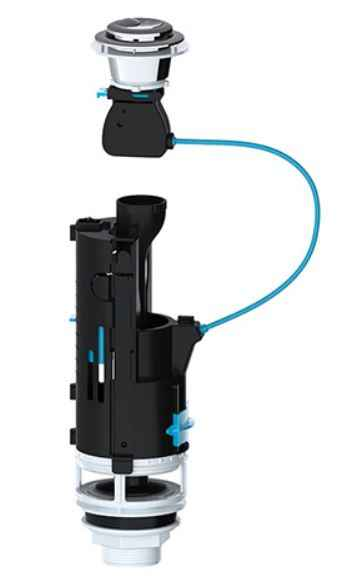 Viva Skylo Dual Flush Valve Toilet Cistern Syphon - SKY005