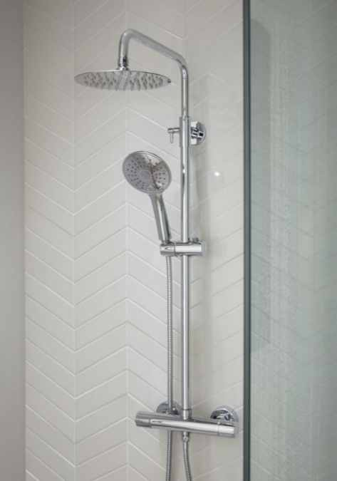 Spey Series 2 Dual Head Thermostatic Shower Kit - Highlife Bathrooms