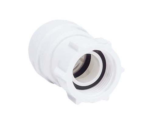 "15mm x 1/2""  Female Coupler - Tap Connector - JG Speedfit - 10 Pack"