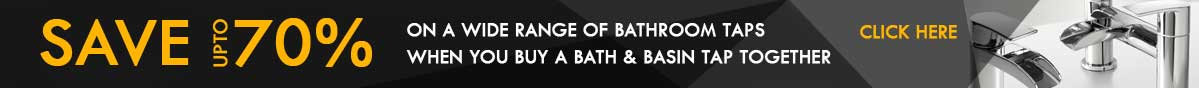 70% Off Bathroom Tap Sets