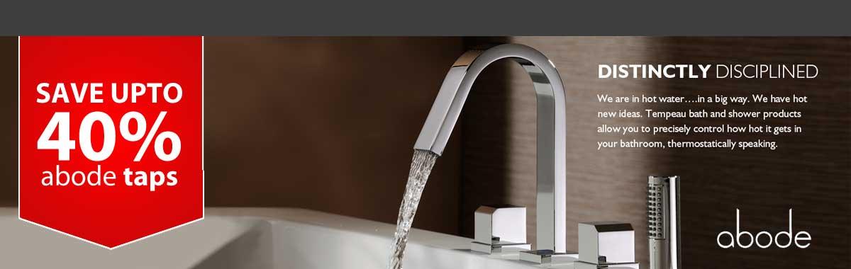 Abode Taps 40 homepage. Bathroom Suites   Baths   Toilets   Showering Supplies   Rubber