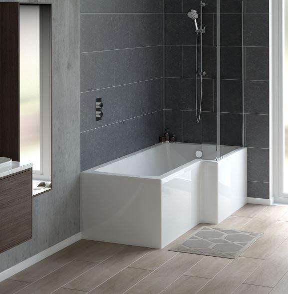 Shower Baths | P Shape Shower Baths | L Shape Shower Baths