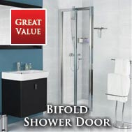 Roman Lumin8 Bi-Fold Shower Doors
