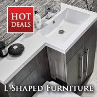 L Shaped Bathrooms Furniture