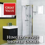 Roman Lumin8 Pivot Shower Doors