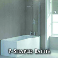 P-Shaped Baths