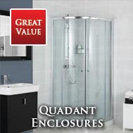 Roman Lumin8 Quadrant Shower Doors