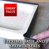 Flexible Shower Tray Seals