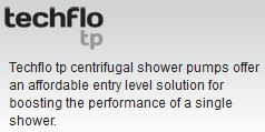 Stuart Turner Techflo TP Shower Pumps