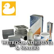 Wet Room Fixings & Sealers