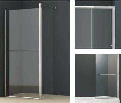 Vessini  E Series Wetroom Glass Panels
