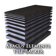 Abacus Elements Tile Backer Boards