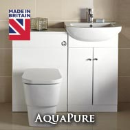 Frontline AquaPure Gloss White Bathroom furniture