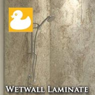 Laminated Wetwall Showerboards & Wetwall Kits
