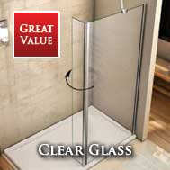 Clear Glass Walkin Glass Panels
