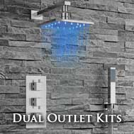 Dual Outlet Concealed Shower Kits