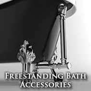 Freestadning bath accessories