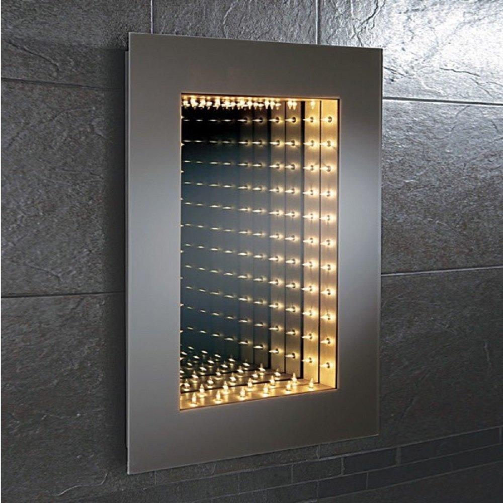 Illuminated Bathroom Mirrors Infinity Bathroom Mirrors