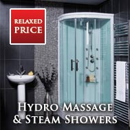 Hydro Massage & Steam Shower Cabins
