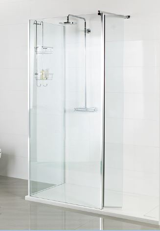 Roman Select Wetroom Glass Panels
