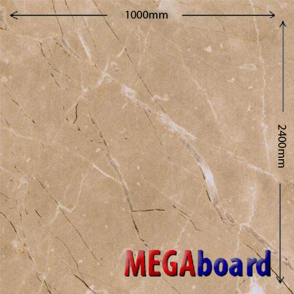 Matt Beige Stone pvc bathroom wall boards
