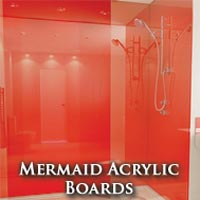 Mermaid Acrylic Boards