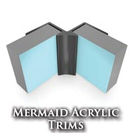 Mermaid Acrylic Trims