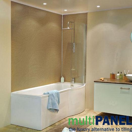 Bathroom panel board