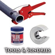 Plumbing Tools And Sundries