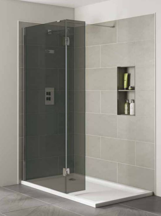 Smoked Glass Wetroom Screens Smoked Glass Shower Panels