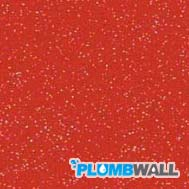 Red Shimmer Red Sparkle Plumbwall
